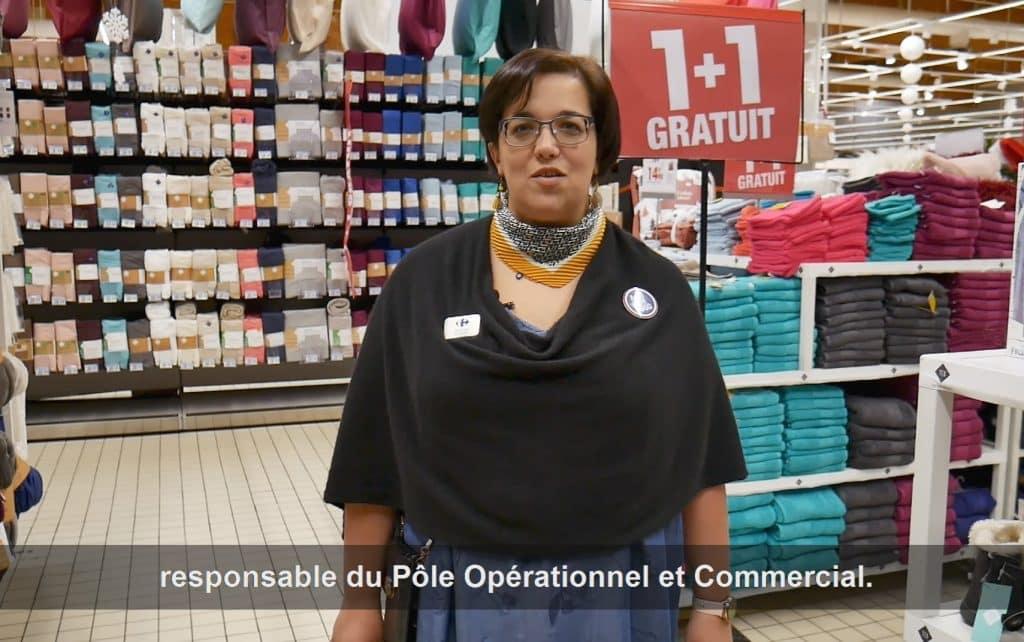 Film corporate avec Carrefour par notre videaste à Toulouse.