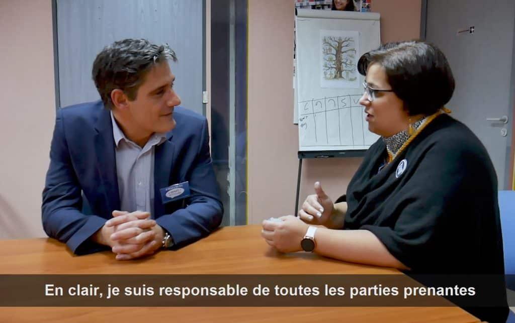 Film corporate avec Carrefour par notre societe de production audiovisuelle à Toulouse.