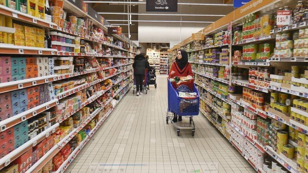 Film corporate avec Carrefour par notre cameraman à Toulouse.