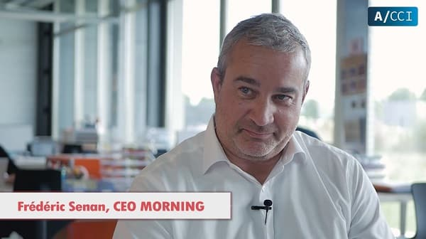 Film corporate avec Morning par notre societe de production audiovisuelle à Toulouse.