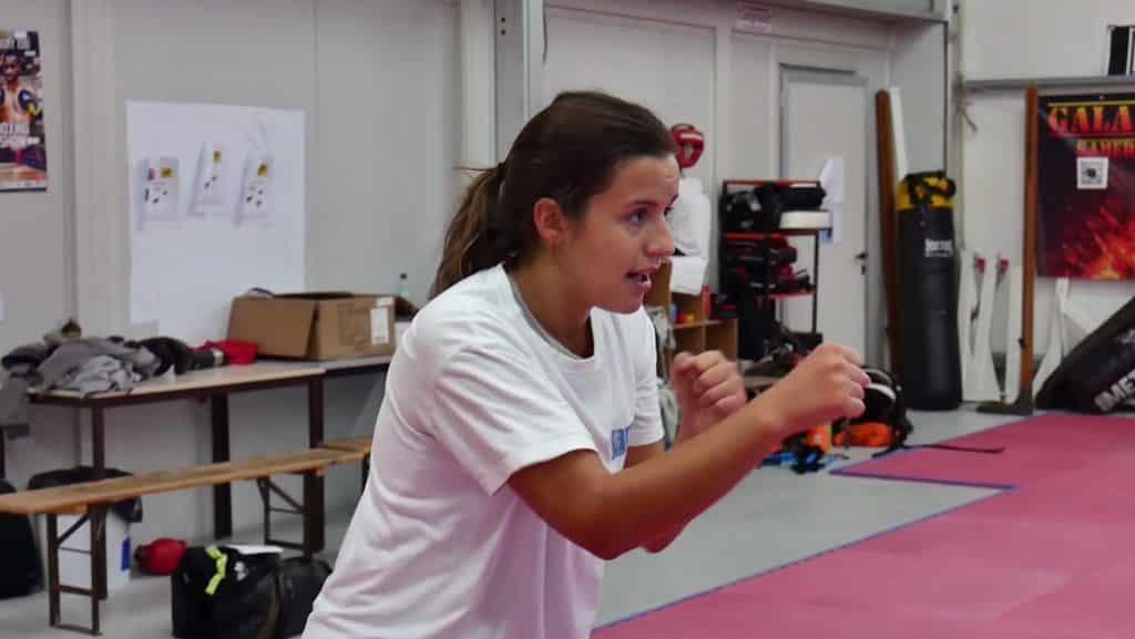 Captation video avec Sandra par notre societe de production audiovisuelle à Toulouse.