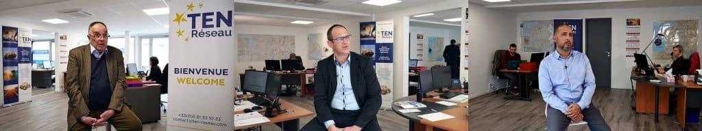 Video entreprise avec Ten Reseau par notre societe de production audiovisuelle à Toulouse.