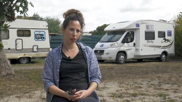Tournage avec le camion douchepar notre prestataire audiovisuel à Toulouse.
